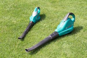 Der kabelgebundene Bosch Laubsauger ist für normal große Gärten ideal
