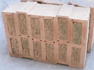 Mauerstein - gefüllter Porotonstein - optimal für ein Effizienzhaus